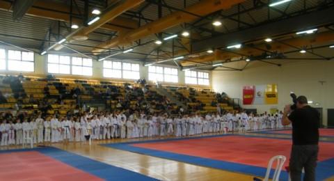 مشاركة عربية مميزة في بطولة الكراتية في نس تسيونا