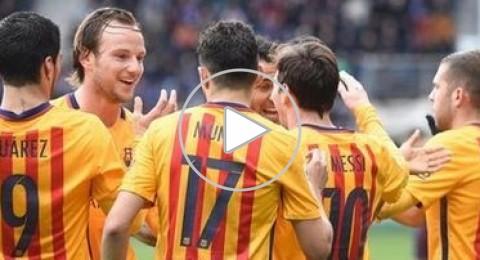 برشلونة يعزز الصدارة بأقدام ميسي وسواريز