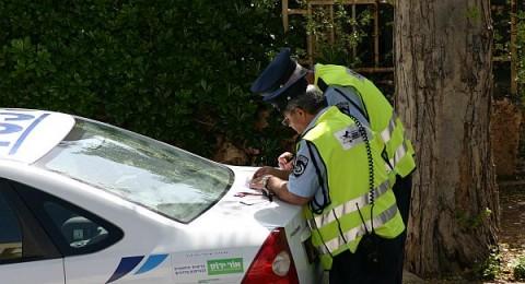 شرطة السير تضبط شفاعمري يقود بسرعة 192 كم/س
