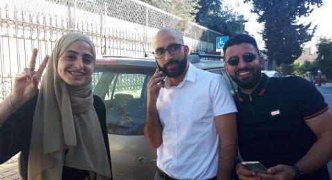 القدس: اطلاق سراح الناشطة منى الكرد