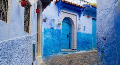 شفشاون المدينة الزرقاء أجمل سادس مدينة