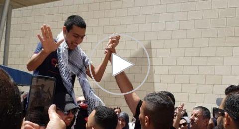 محكمة الصلح في حيفا تُطلق سراح الشاب احمد كيوان صديق الشهيد