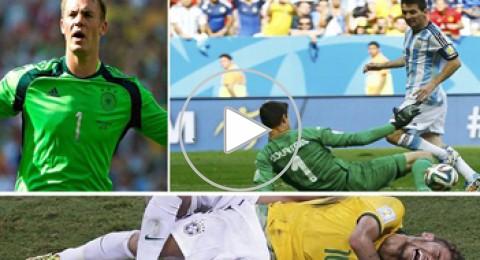 10 مشاهد مؤثرة من حكاية الدور ربع النهائي في مونديال البرازيل
