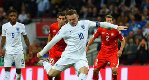 المنتخب الإنجليزي يحافظ على العلامة الكاملة ويعرقل مسيرة سويسرا بتصفيات يورو 2016