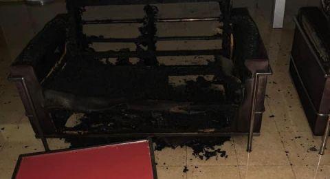 بعد احراق المدرسة، محاولة احراق مكتبة السلام في واحة السلام