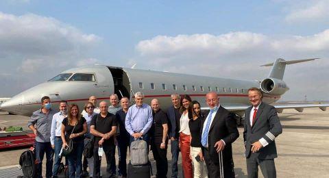 وفد رجال أعمال يتوجه من إسرائيل إلى الإمارات بينهم رجل أعمال عربي