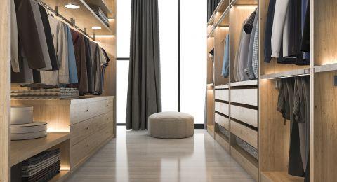 نصائح الديكور المنزلي لتصميم غرفة الملابس