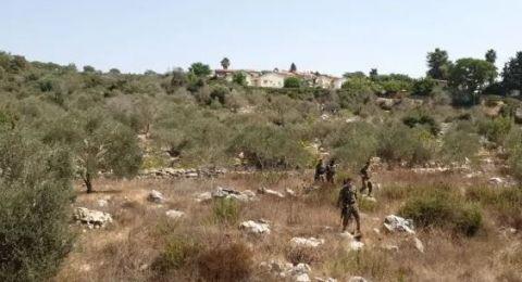 اصابة فلسطيني  بزعم تنفيذ عملية طعن قرب مستوطنة