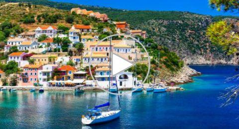 كيفالونيا من اجمل جزر في اليونان