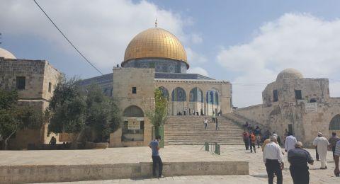 الأوقاف الإسلامية : الاقصى مسجد للمسلمين لا يقبل القسمة ولا الشراكة