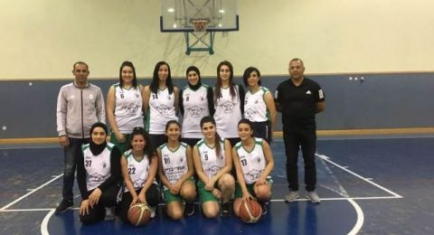 ارتقاء فتيات هبوعيل دير حنا بكرة السلة للدرجة القطرية