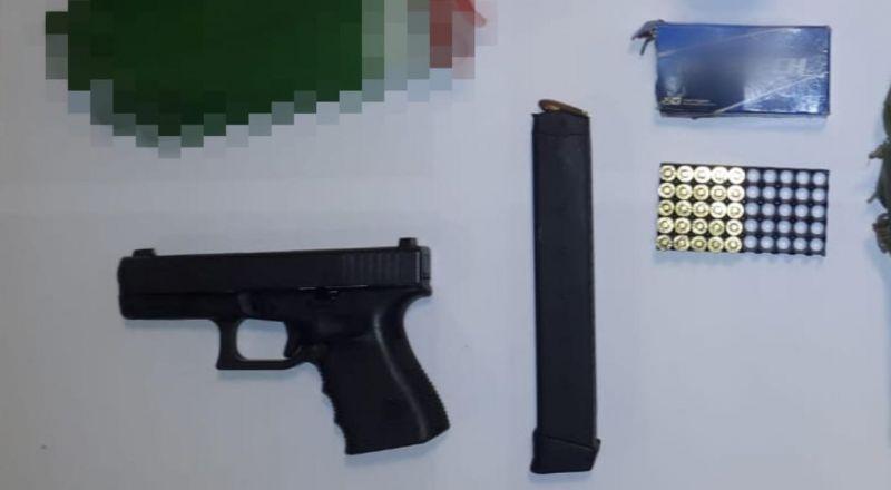 ضبط شاب من عبلين وبحوزته سلاح