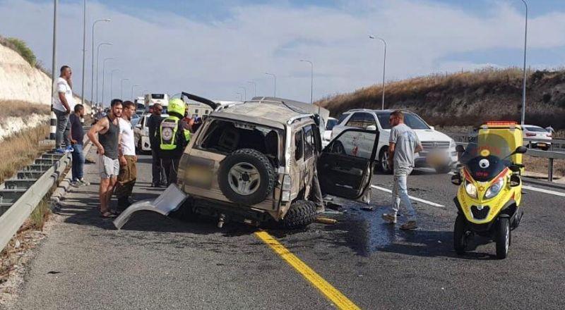 شفاعمرو: حادث طرق واصابة متوسطة لسائق (35 عامًا)