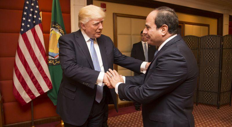 السيسي: نرفض محاولات استخدام القوة واستقطاع جزء من الأراضي السورية