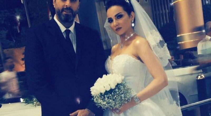 ما سر حفل الزفاف الذي جمع باسم ياخور وصفاء سلطان؟