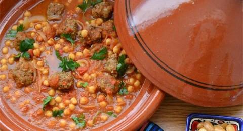 طاجن كرات اللحم على الطريقة المغربية