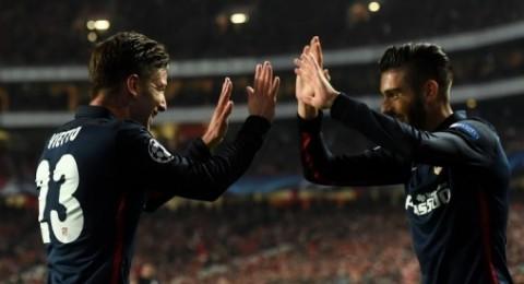 اتليتكو مدريد يحقق فوز ثمين على بنفيكا ويتصدر مجموعته