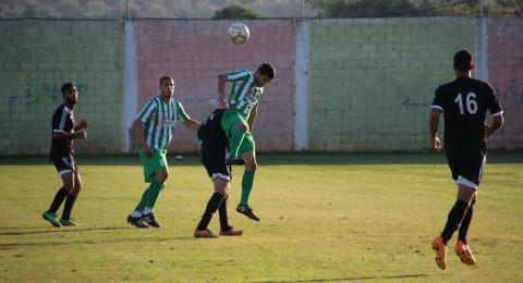 الاخضر الكناوي يفوز على الاخوة كفر مندا (1-0)
