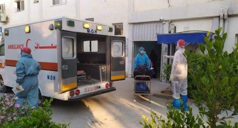 7 وفيات و 568 اصابة جديدة بفيروس كرونا في غزة