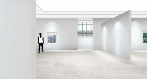 افتتاح المعرض الافتراضي