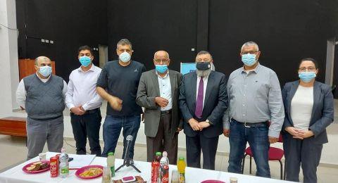 نائب وزير الداخلية يزور جت وإدارة المجلس تعرض أمامه أبرز المطالب