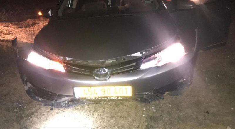 سرق سيارة وهرب إلى معسكر للجيش الاسرائيلي ثم اختفى !