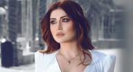 هبة نور بفستان الزفاف مع زياد برجي