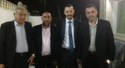 النائب طلب  ار يلتقي عضوين من مجلس النواب الاردني ومع السفير الاسرائيلي بعمان