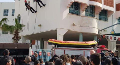 يوم جماهيري خاص لسلطة الاطفاء والانقاذ الأول من نوعه في يافا