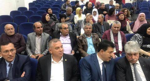 جمعية الاخوة الفلسطينية التونسية تستقبل ذوي الشهداء من سخنين