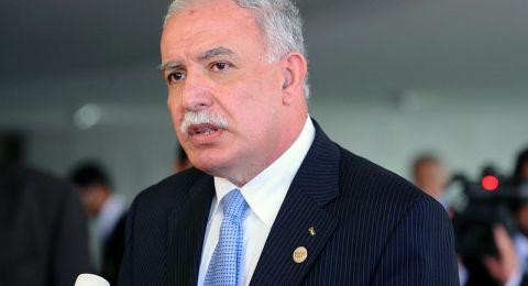 وزير الخارجية الفلسطيني: نتنياهو سيكون