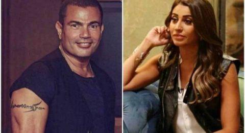 أزمة كبيرة تلاحق دينا الشربيني بسبب عمرو دياب!