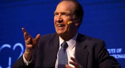 في أول تصريح له.. ماذا قال رئيس البنك الدولي الجديد؟