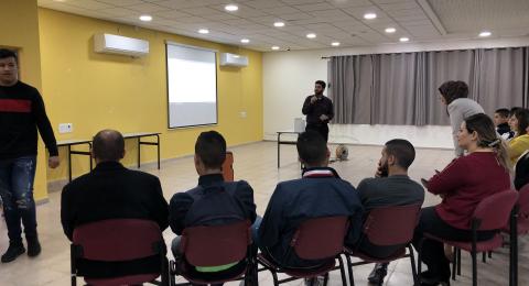 الناصرة: يوم الاعمال الطيبة مدرسة د.خالد سليمان