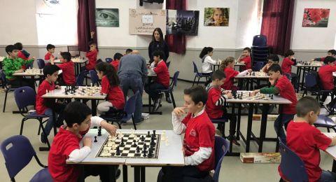 الناصرة: بطولة الشطرنج الحادية عشرة في المدرسة المعمدانية