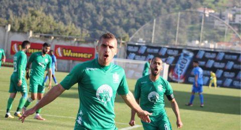فوز اخر من سلسلة انتصارات الاخاء النصراوي (1-0) على ه عكا