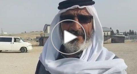 الحاج رشيد ابو ماضي من قرية المشاش في النقب: هنالك احباط في المجتمع من الاحزاب
