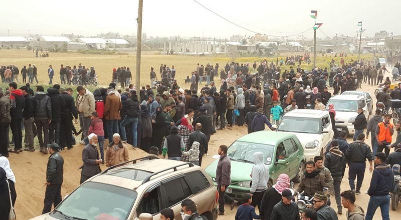 استشهاد طفل و30 إصابة برصاص الاحتلال في جمعة