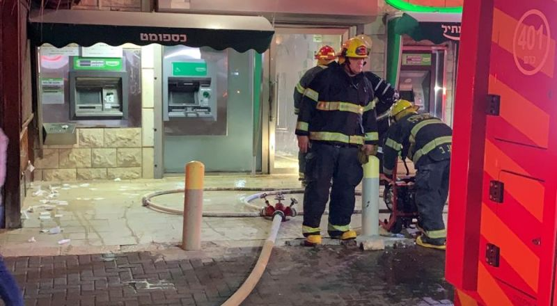 دير حنا: مشتبهون حاولوا حرق فرع بنك مركنتيل