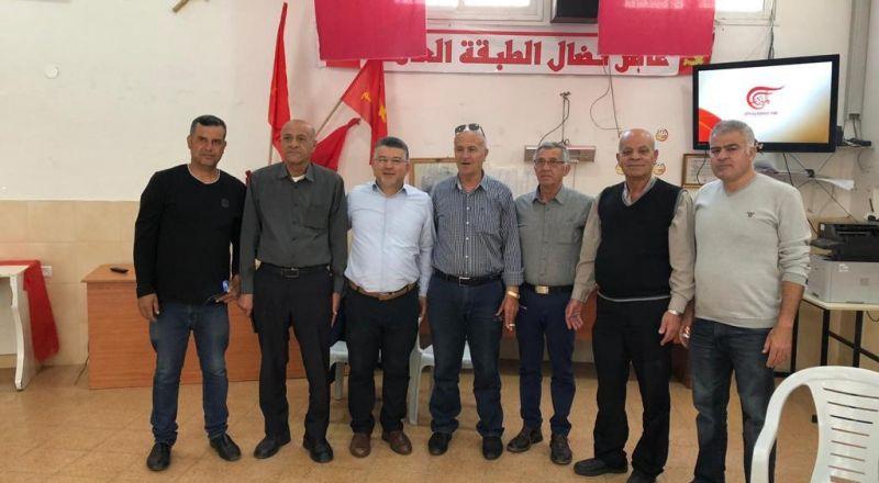ام الفحم: الجبهة والنائب د. جبارين يستقبلون المئات من الأهالي