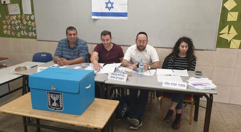 نسبة التصويت في المجتمع العربي لا تتعدى 25% حتى الساعة 11:30