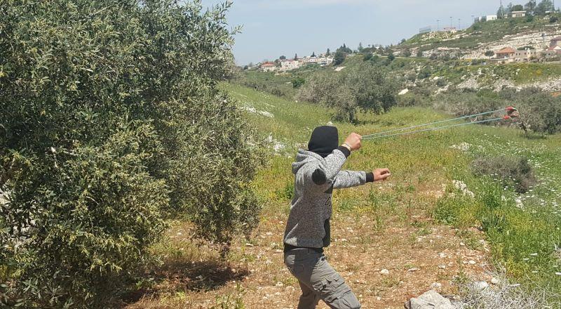 اصابة شاب بالرصاص المعدني والعشرات بالاختناق خلال قمع جيش الاحتلال لمسيرة كفر قدوم الاسبوعية