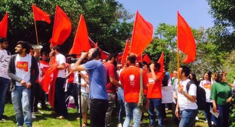 الجبهة الطلابية في جامعة حيفا تحيي ذكرى النكبة اليوم على وقع جوقة التحريض الفاشي