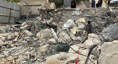الاحتلال يهدم منزلاً في سلوان