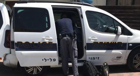 الشرطة تلقي القبض على شاب من ام الفحم بشبهة الاتجار بالمخدرات