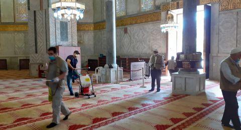 خطيب الأقصى: أوامر الابعاد عن المسجد سياسة ظالمة