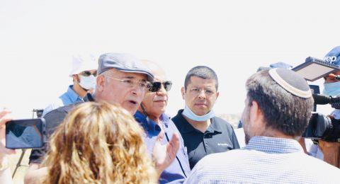 غضب في النقب بسبب زيارة رچبفيم وحزب يمينا