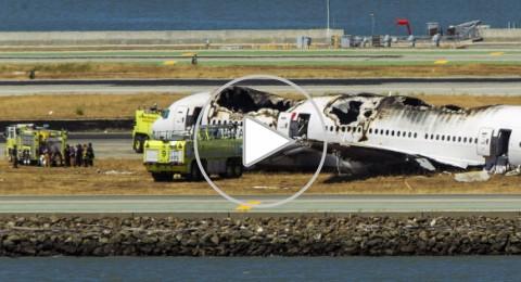قتيلان و61 جريحاً في حادث طائرة سان فرانسيسكو