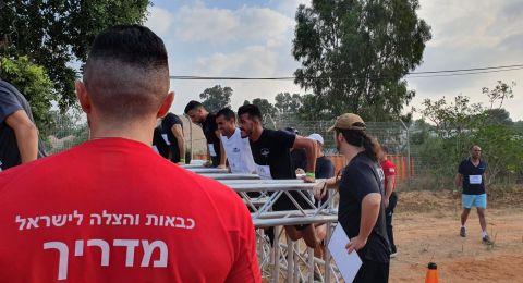 لأول مرة: سلطة الإطفاء والإنقاذ تجري اختبارات تصنيف للمتقدمين لوظيفة رجال إطفاء من المجتمع العربي