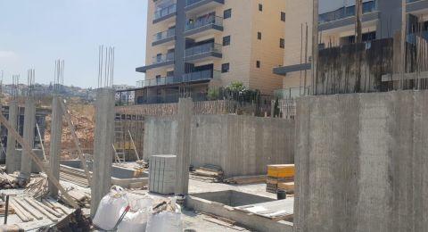 مدرسة البيروني للعسر التعلمي انهاء الطابق الاول والاستمرار في البناء